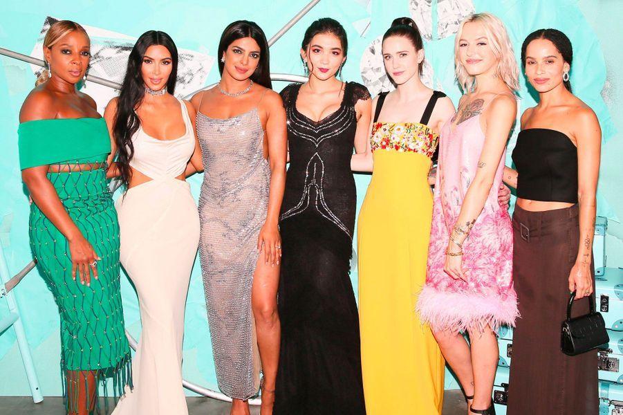 Mary J Blige, Kim Kardashian, Priyanka Chopra, Rowan Blanchard, Rachel Brosnahan, Bria Vinaite et Zoë Kravtiz