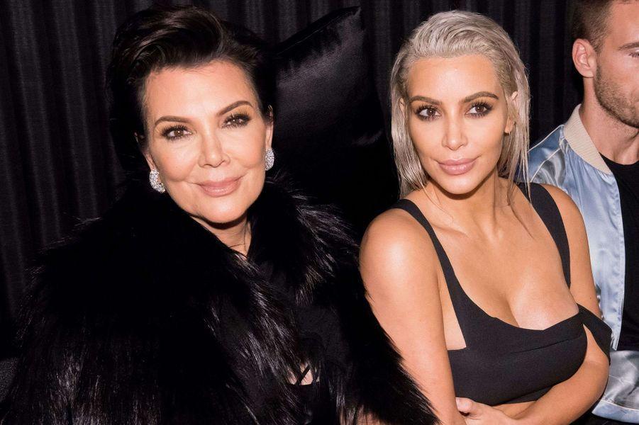 Kim Kardashian à la soirée Met & Marcus.