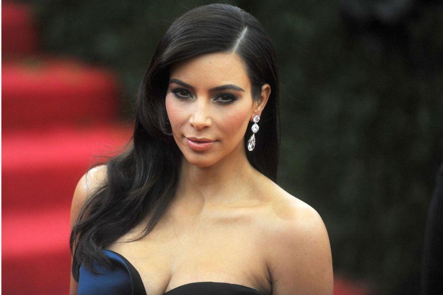 Kim Kardashian est une femme à bijoux