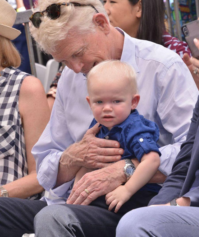 Ennis, le fils de Kirsten Dunst et son grand-père, Klaus
