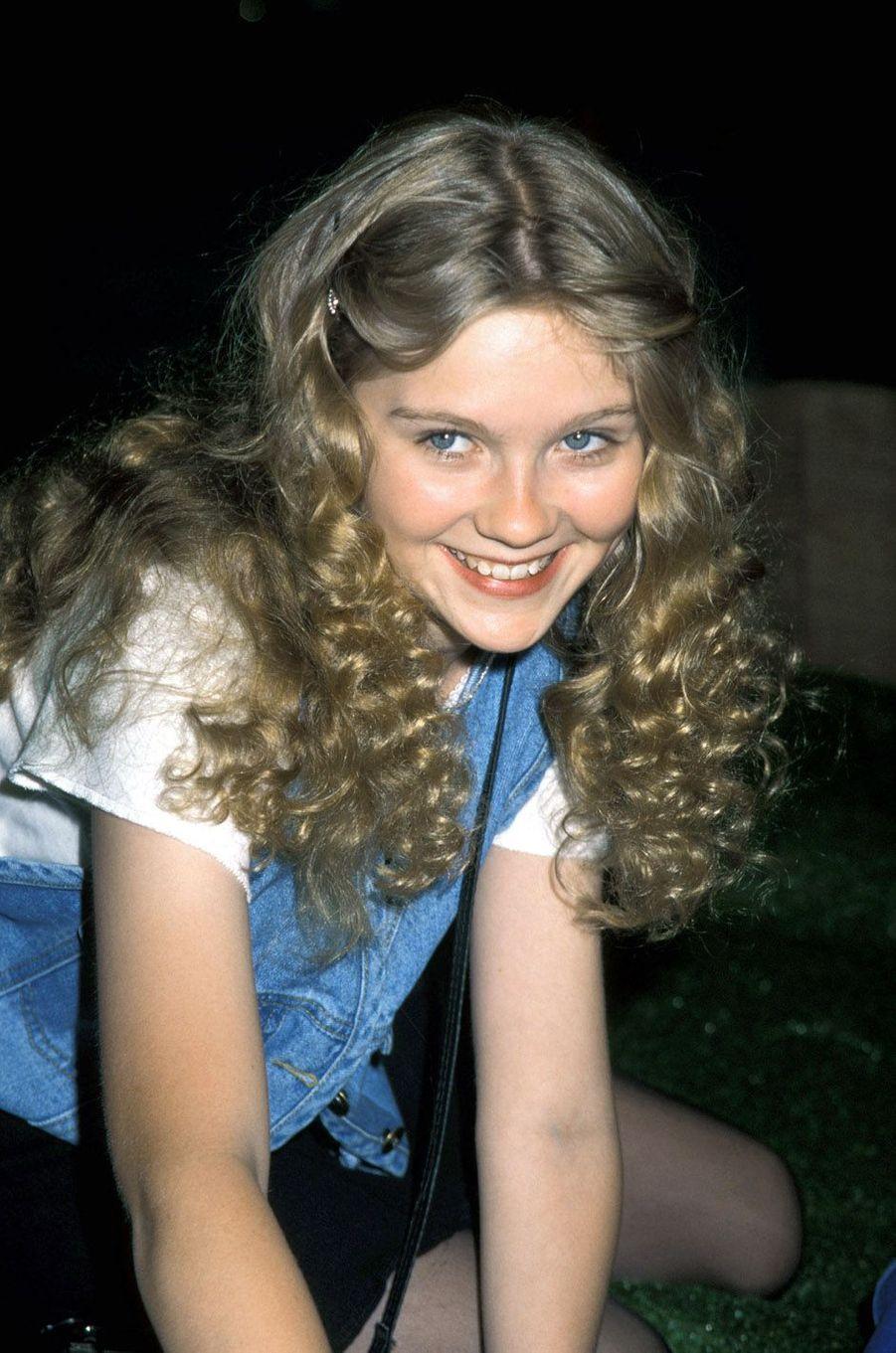 Kirsten Dunst en mai 1995.