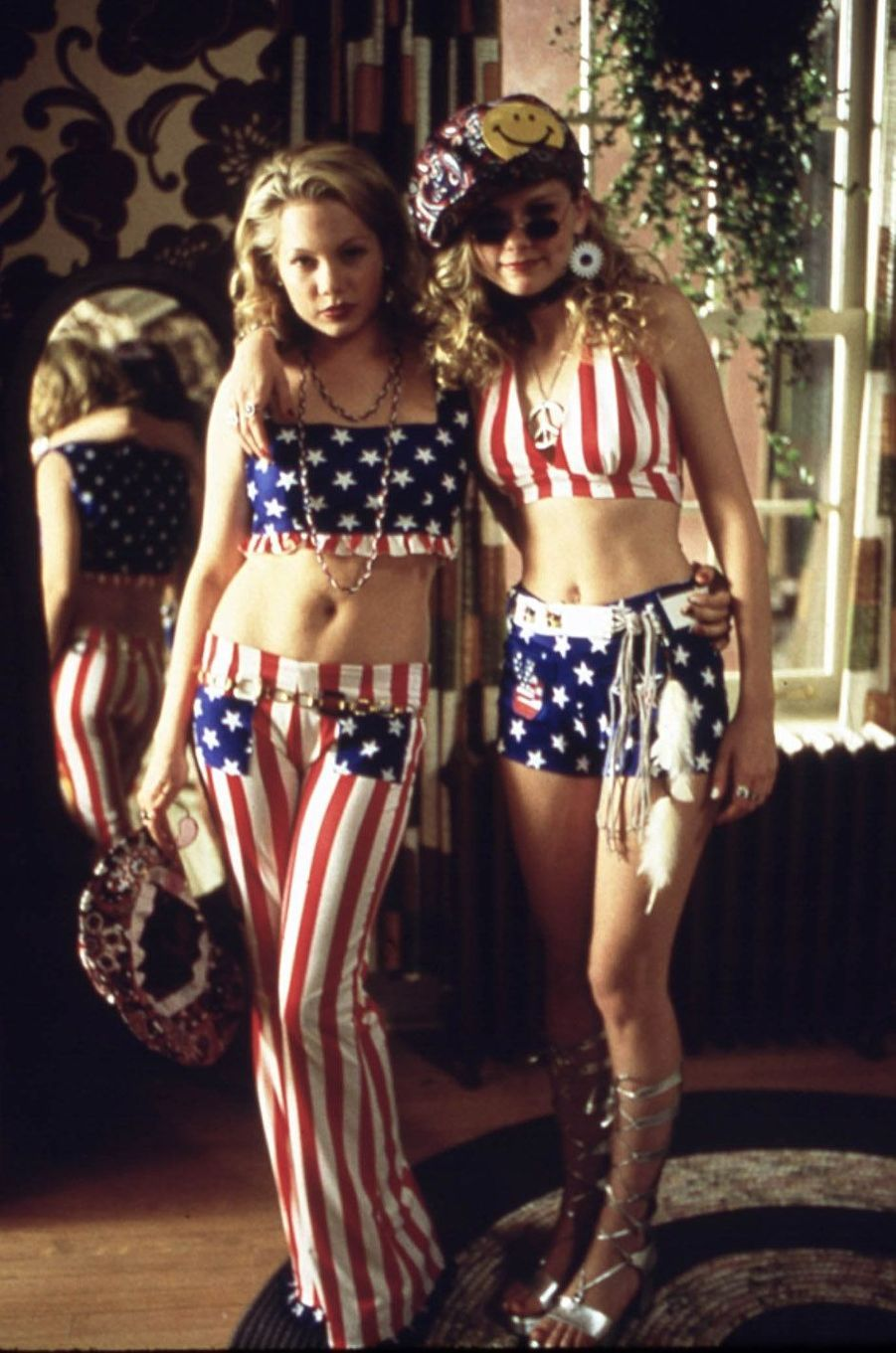 Kirsten Dunst avec Michele Williams en 1999.