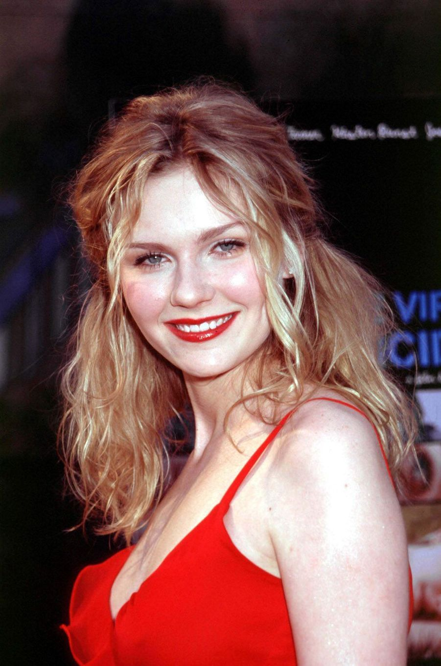 """Kirsten Dunst à l'avant-première de """"Virgin Suicides"""" en 2000."""