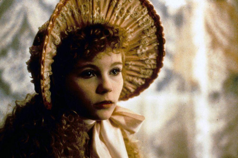 """Kirsten Dunst dans le film """"Entretien avec un vampire"""" en 1994."""