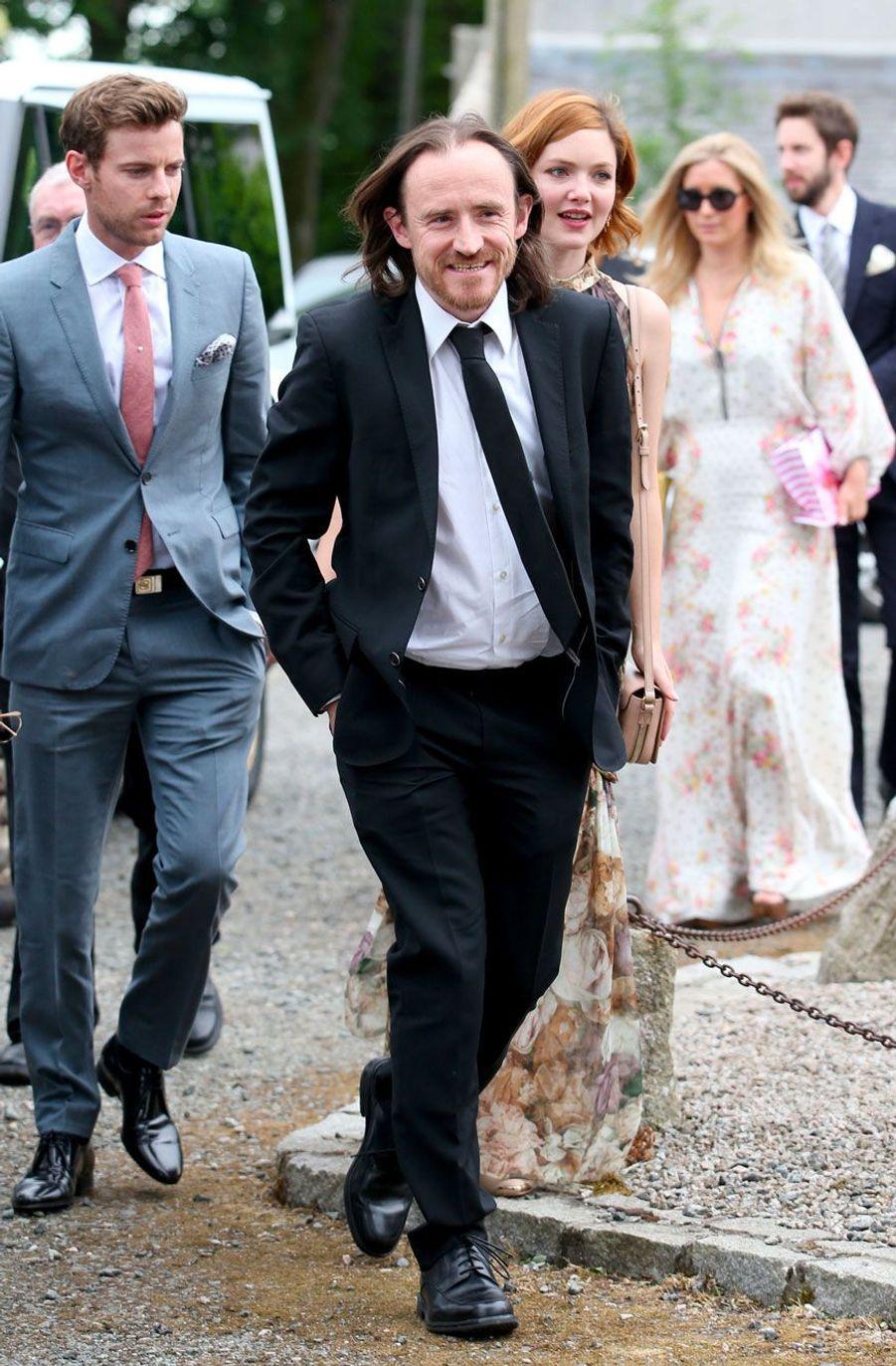 Arrivée deBen Crompton (Eddison Tollett dans «Game of Thrones»), samedi.