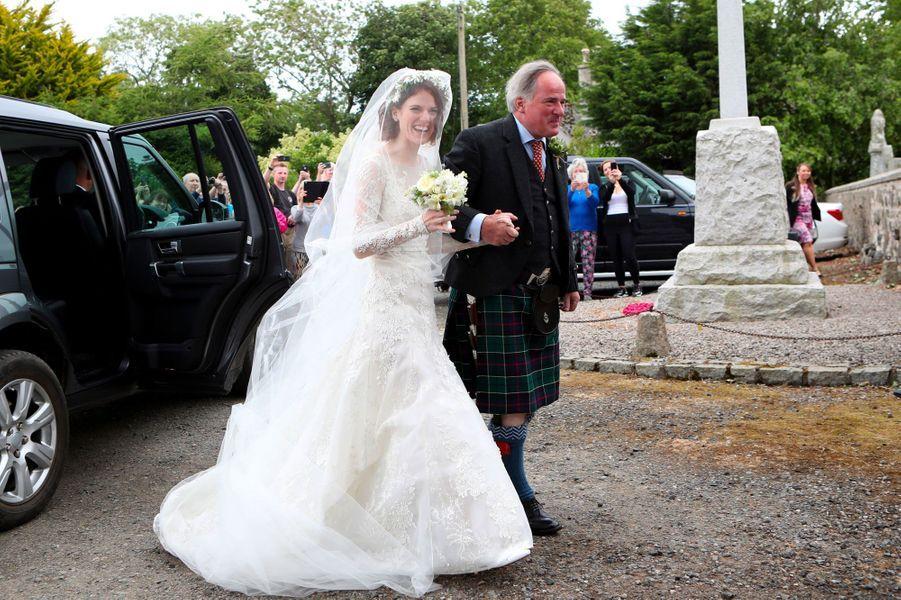 Robe mariage rose leslie