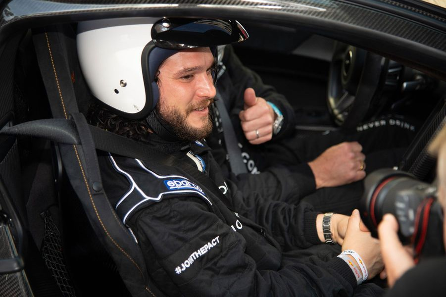 Kit Harington au Grand Prix F1 de Monaco dimanche