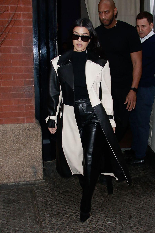 Kourtney Kardashian à New York le 8 février 2019