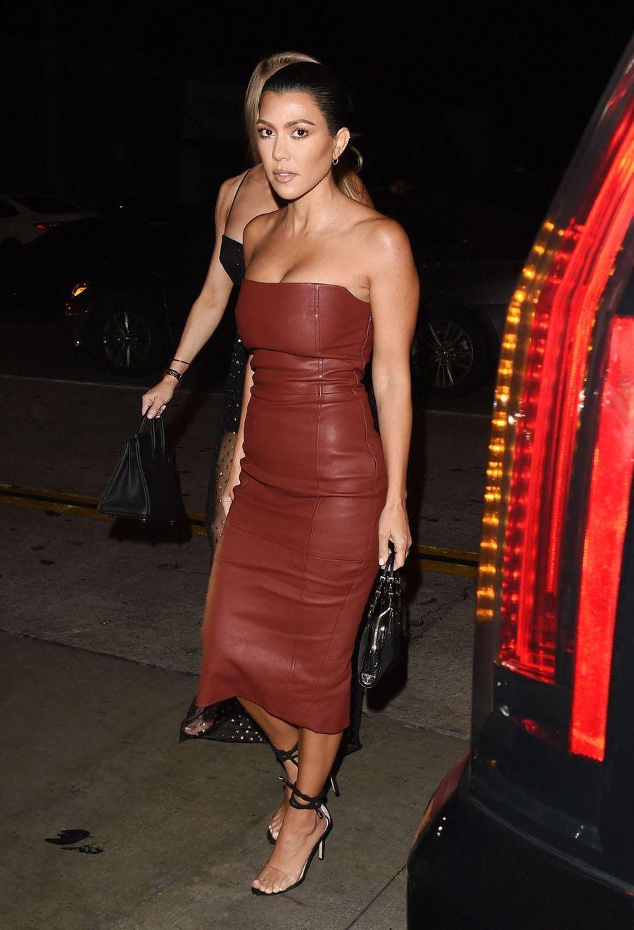 Kourtney Kardashian à Los Angeles le 26 juillet 2018