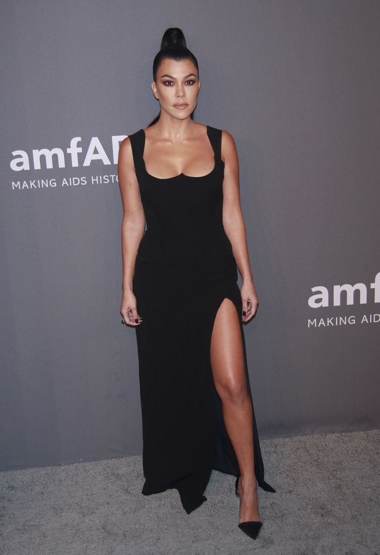 Kourtney Kardashian au gala de l'amfAR à New York le 6 février 2019