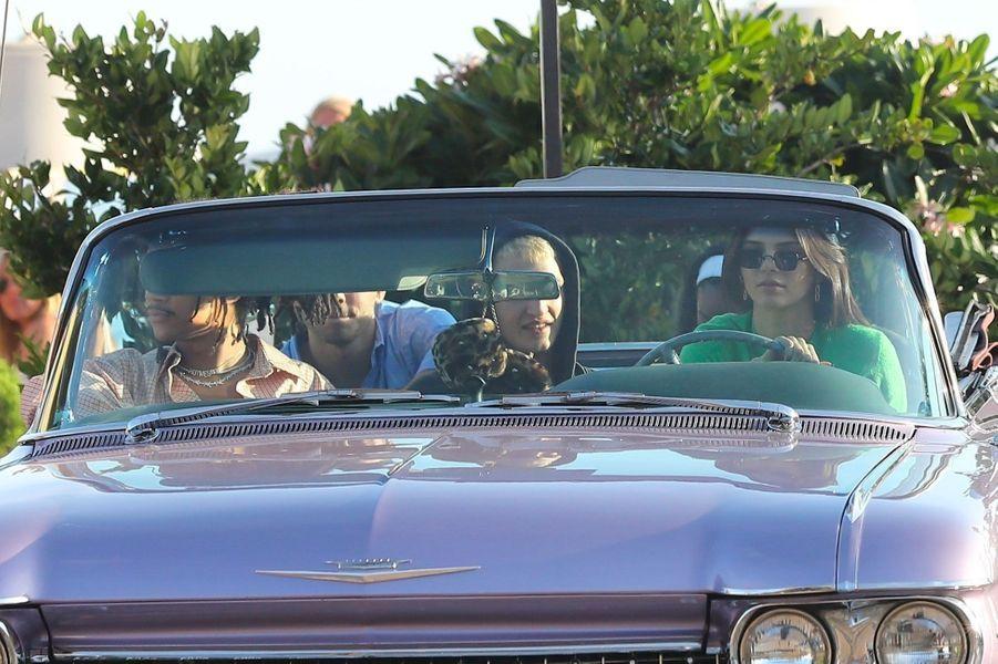 Kendall Jenner, Anwar Hadid, Luka Sabbat