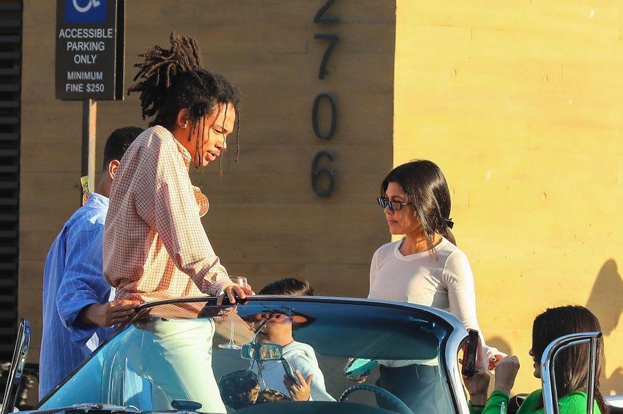 Luka Sabbat, Kendall Jenner et Kourtney Kardashian