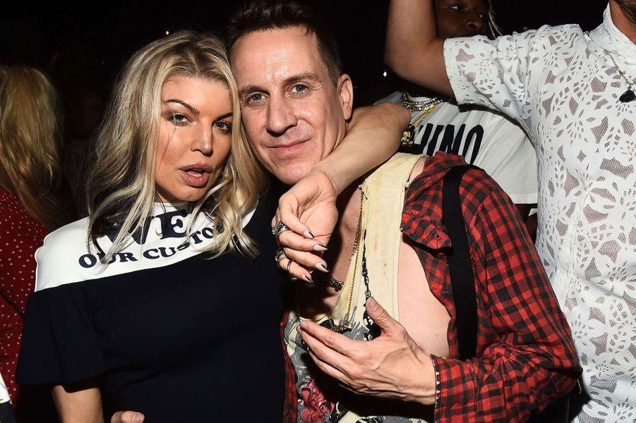 Fergie et Jeremy Scott