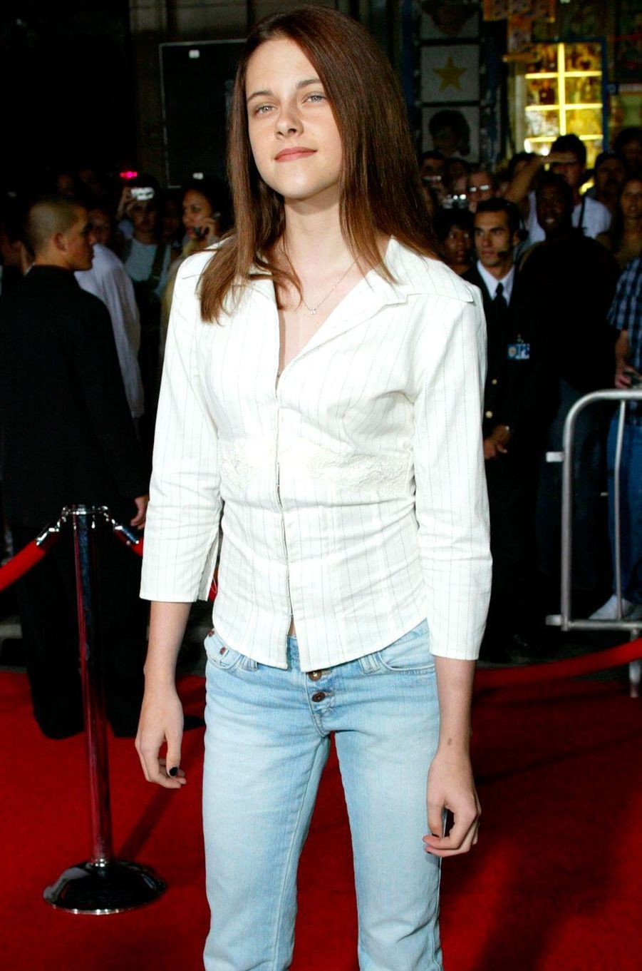 Kristen Stewart a 13 ans.