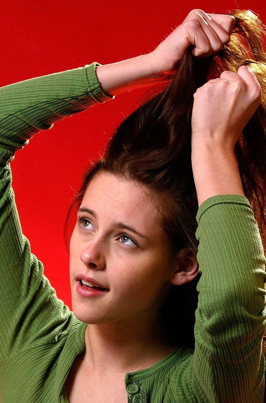 Kristen Stewart, une future reine d'Hollywood.