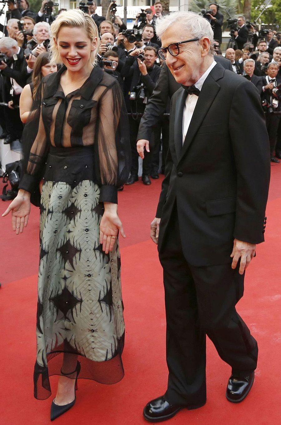 Kristen Stewart ouvre le festival de Cannes 2016 avec Woody Allen et son «Café Society».