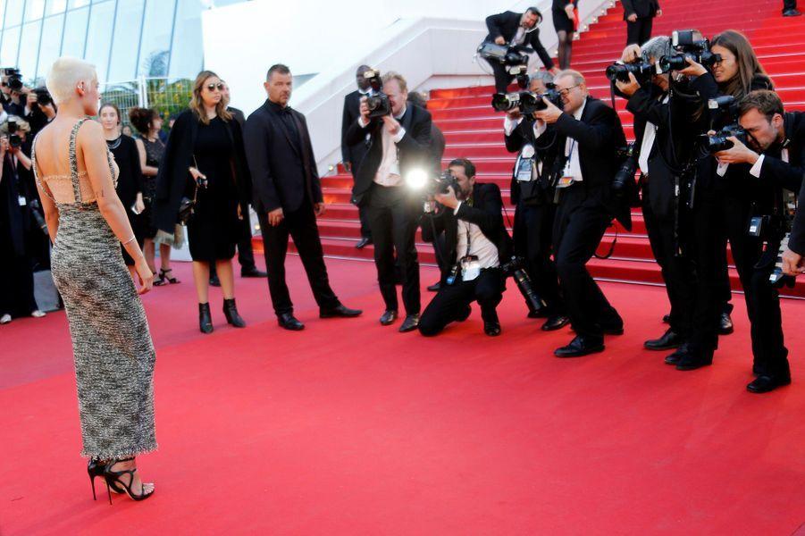 Kristen Stewart au festival de Cannes 2017.