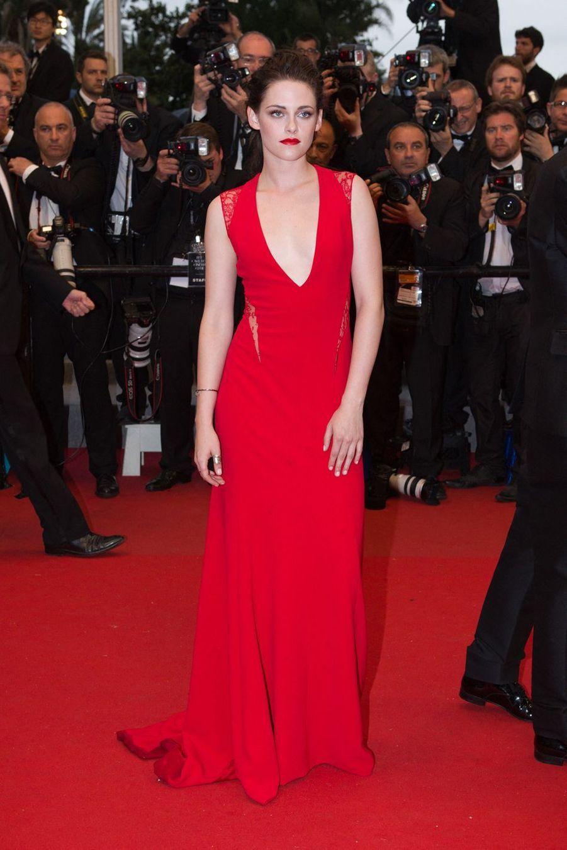 Kristen Stewart à Cannes, le 25 mai 2012