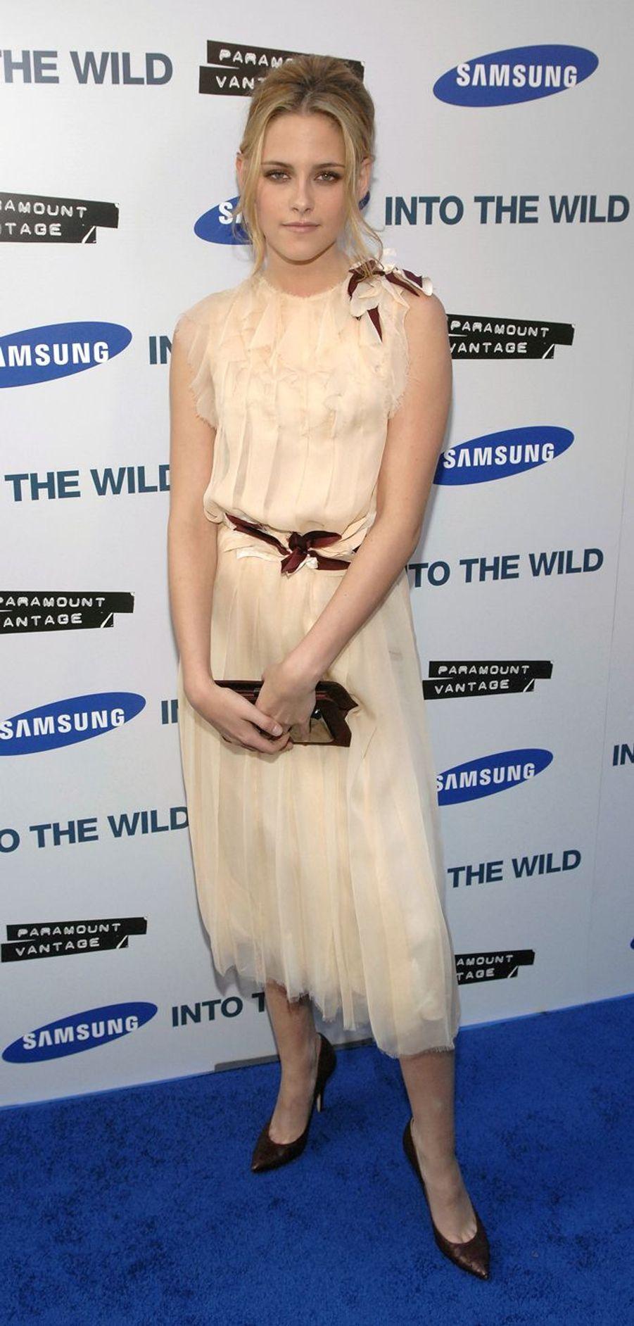 Kristen Stewart à Los Angeles, le 18 septembre 2007