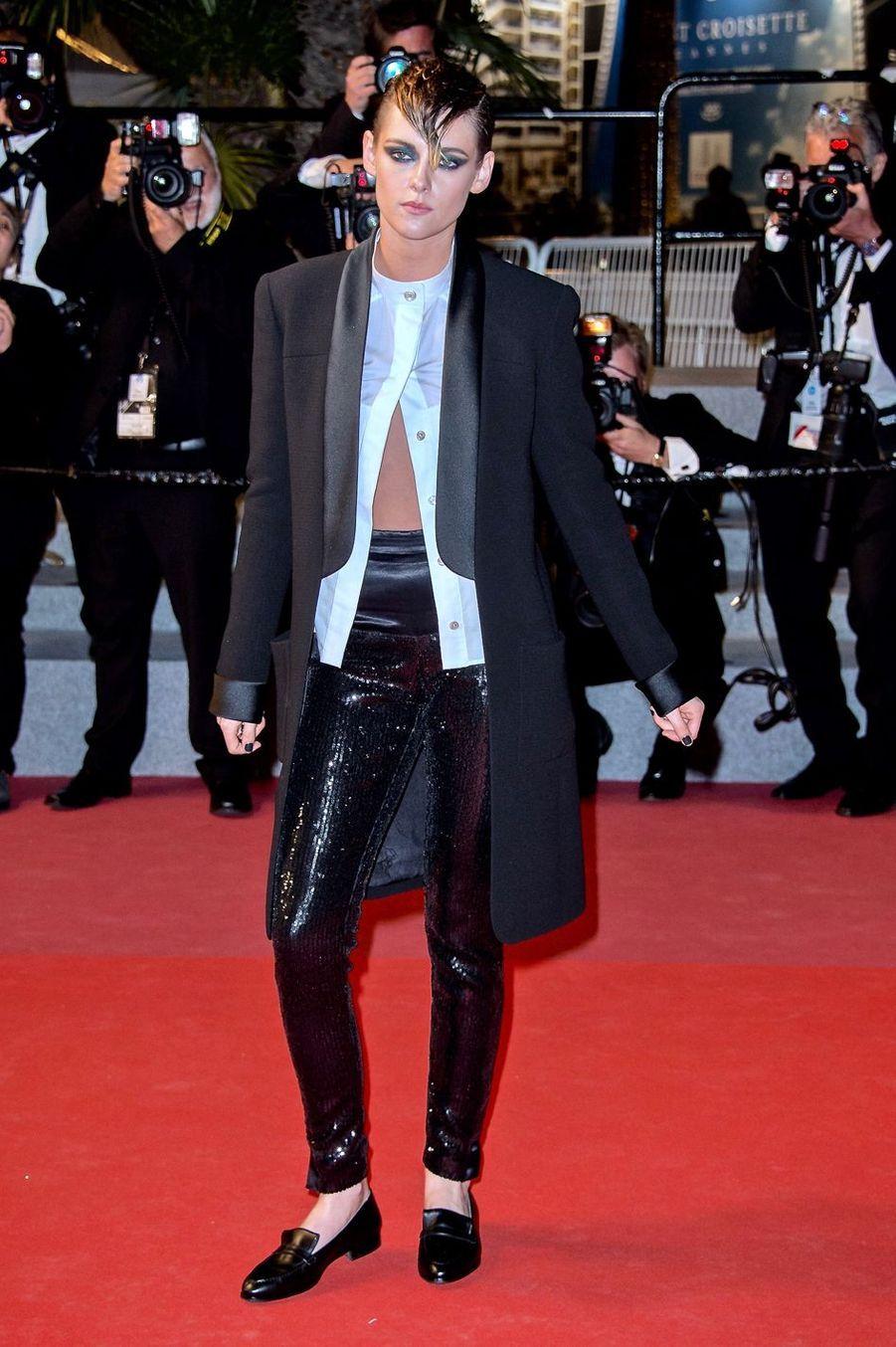 Kristen Stewart à Cannes, le 17 mai 2018
