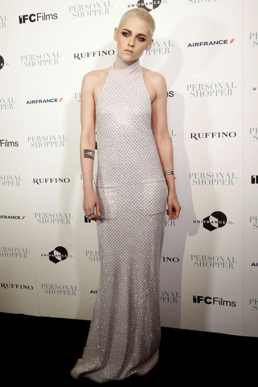 Kristen Stewart à New York, le 9 mars 2017