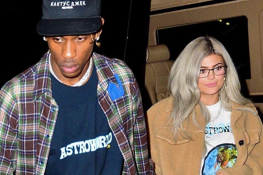 Kylie Jenner et Travis Scott quittent Madison Square Garden