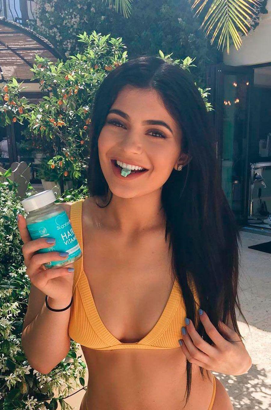 Kylie Jenner au printemps 2016