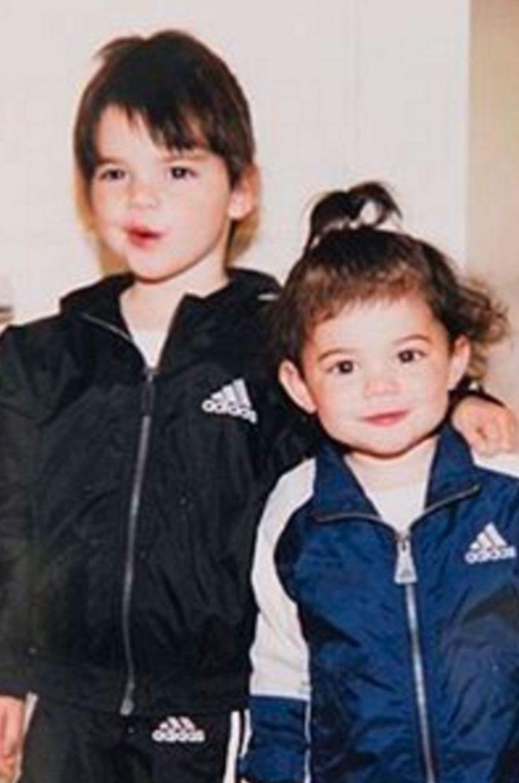 Kylie Jenner avec sa sœur Kendall