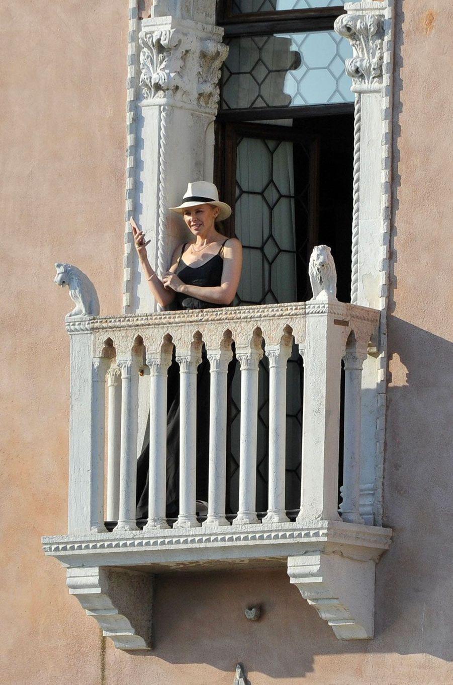Kylie Minogue, Venise, juillet 2018