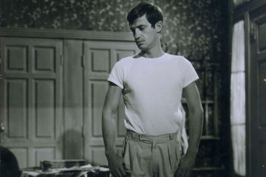 Jean-Paul Belmondo en 1950