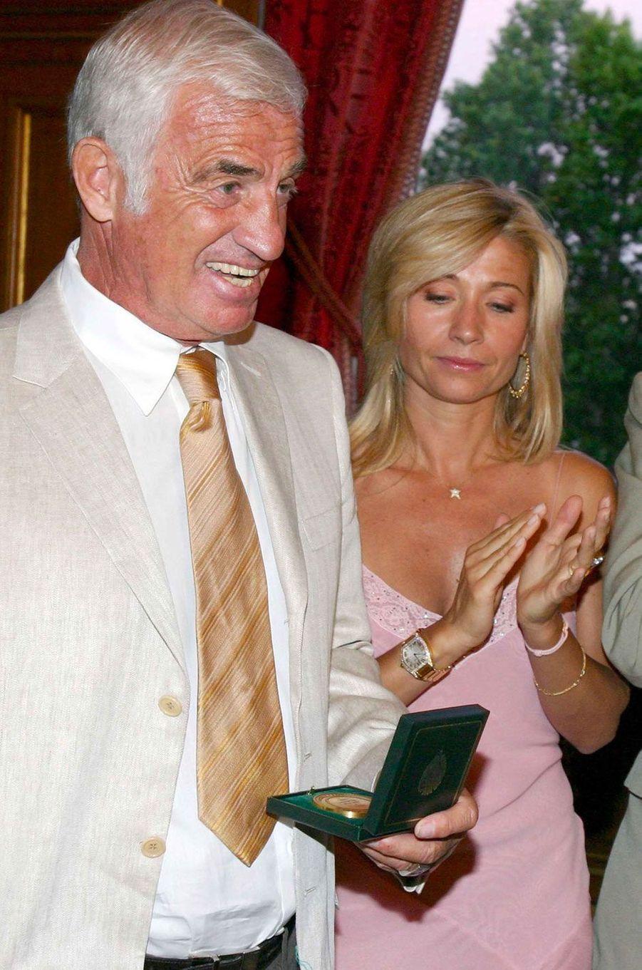 Jean-Paul Belmondo en 2004