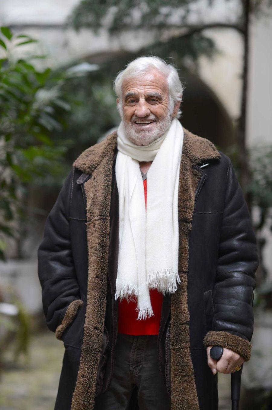 Jean-Paul Belmondo en 2015
