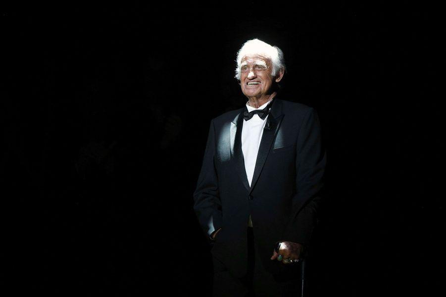 Jean-Paul Belmondo en 2017