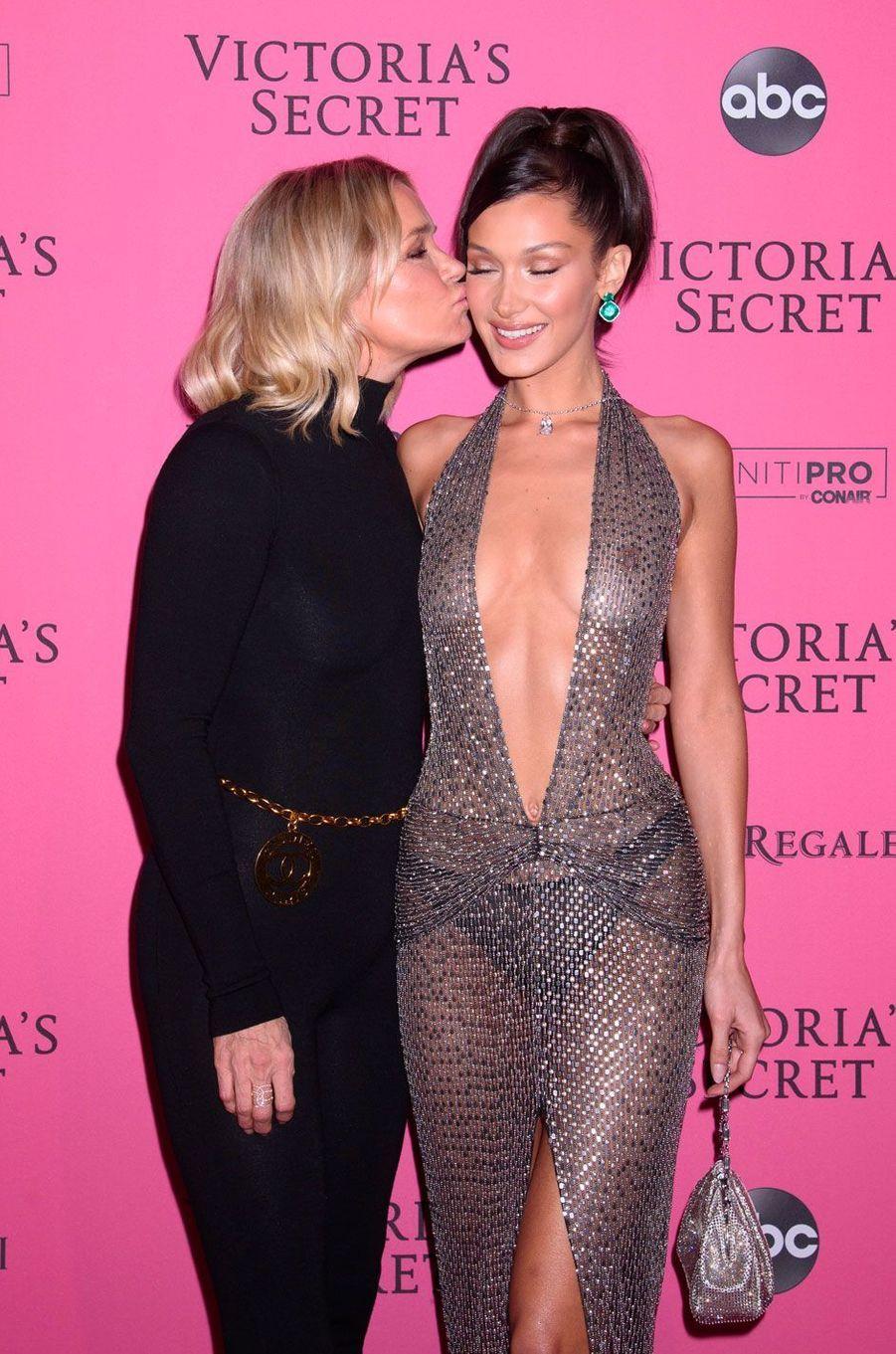 Bella Hadid et sa mère Yolanda