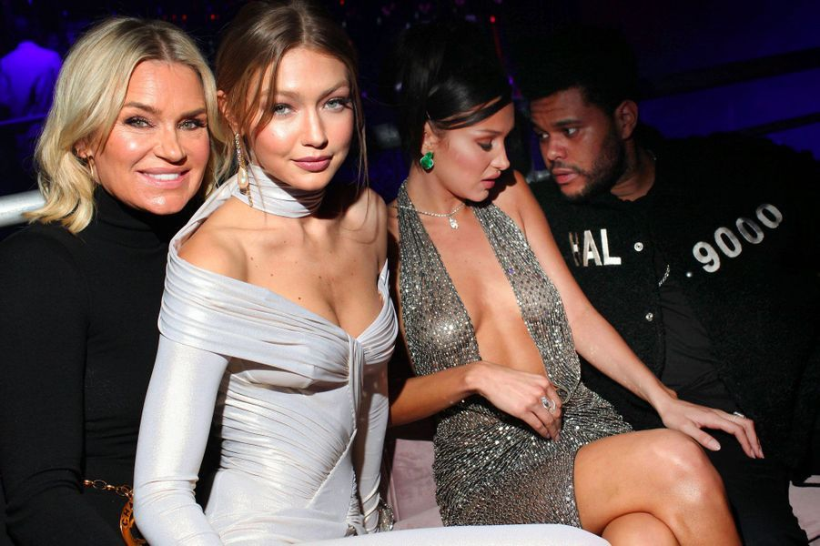 Yolanda Hadid, Gigi Hadid, Bellla Hadid, The Weeknd