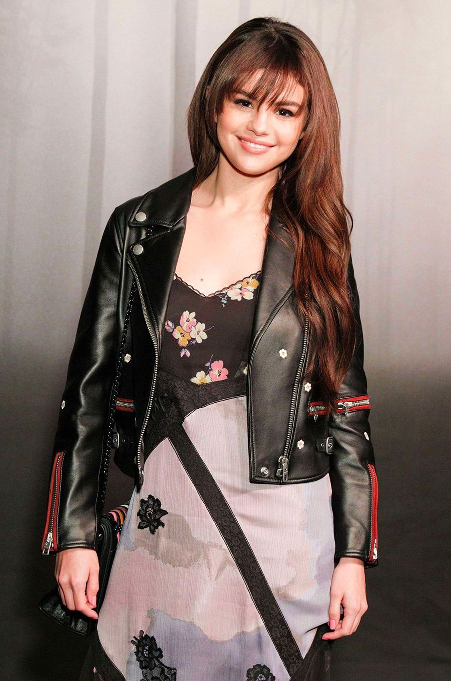 Selena Gomez au défilé Coach mardi 13 février