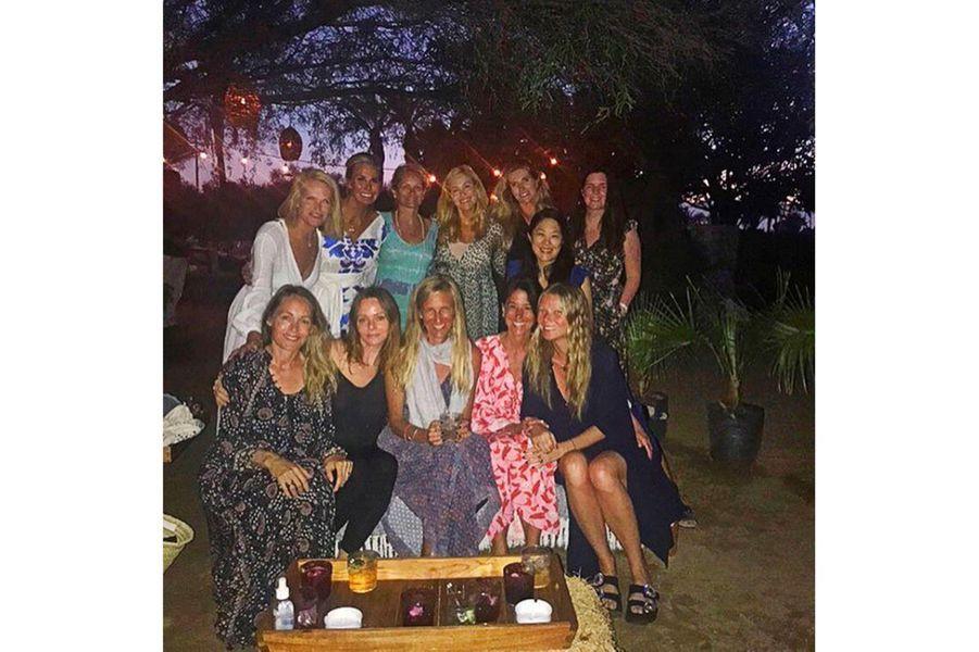 Gwyneth Paltrow et ses amis à Cabo San Lucas (Mexique) pour sa bachelorette party