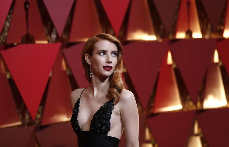 Emma Roberts aux Oscars en février 2017