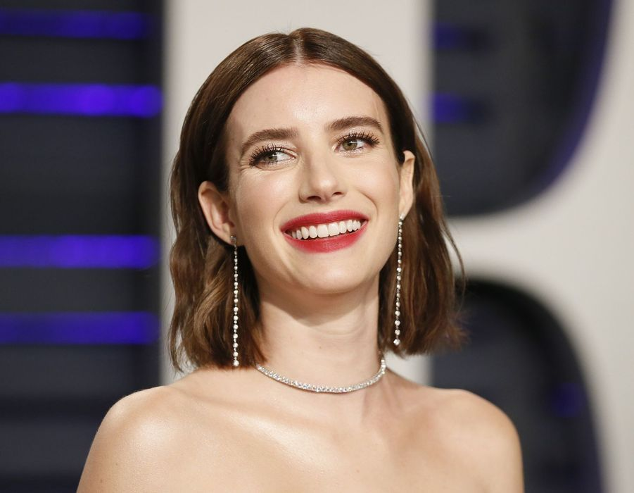 Emma Roberts à l'after-party des Oscars organisée par «Vanity Fair» à Los Angeles en février 2019