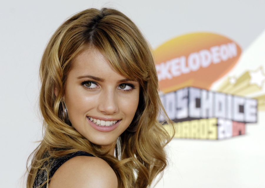Emma Roberts aux Kids' Choice Awards à Los Angeles en mars 2007