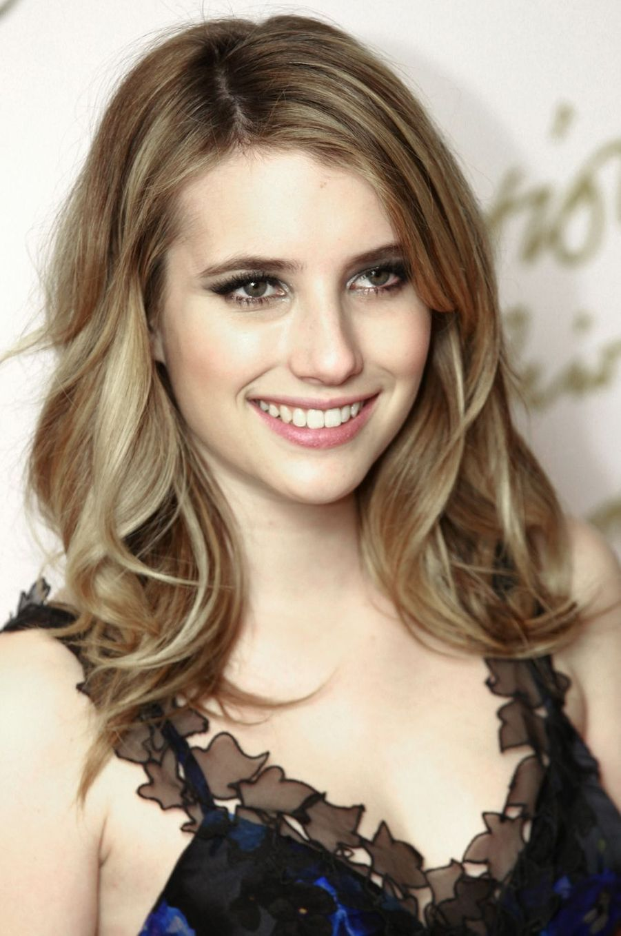 Emma Roberts aux British Fashion Awards à Londres en décembre 2010