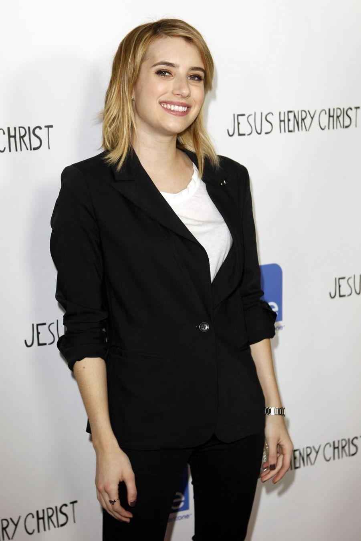 Emma Roberts à la première du film «Jesus Henry Christ» à Hollywood en avril 2012
