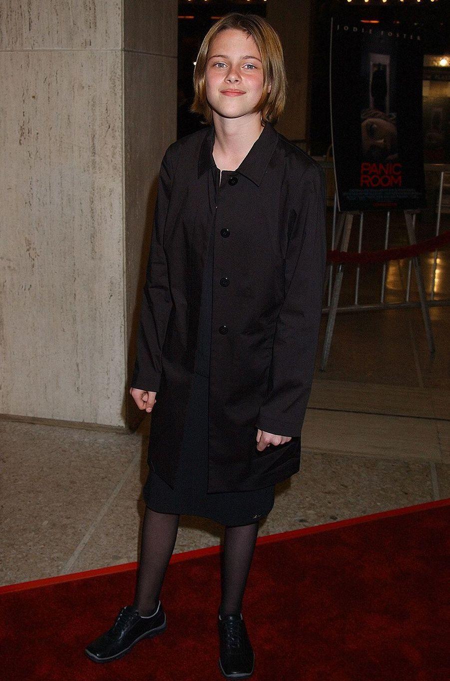 Kristen Stewart à la première du film «Panic Room» en mars 2002