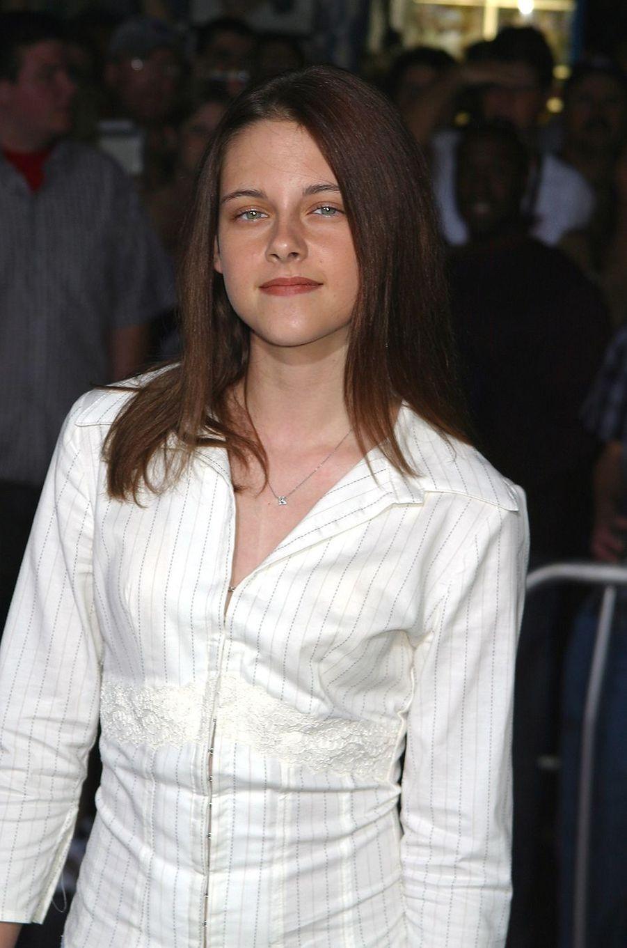Kristen Stewart à la première du film «La Gorge du diable» en septembre 2003