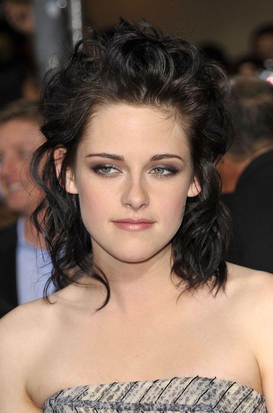 Kristen Stewart à la première de «Twilight : New Moon» à Los Angeles en novembre 2009