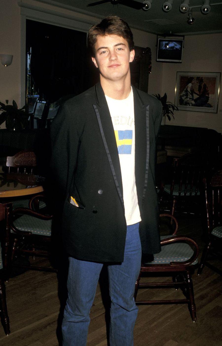 Matthew Perry en 1987.