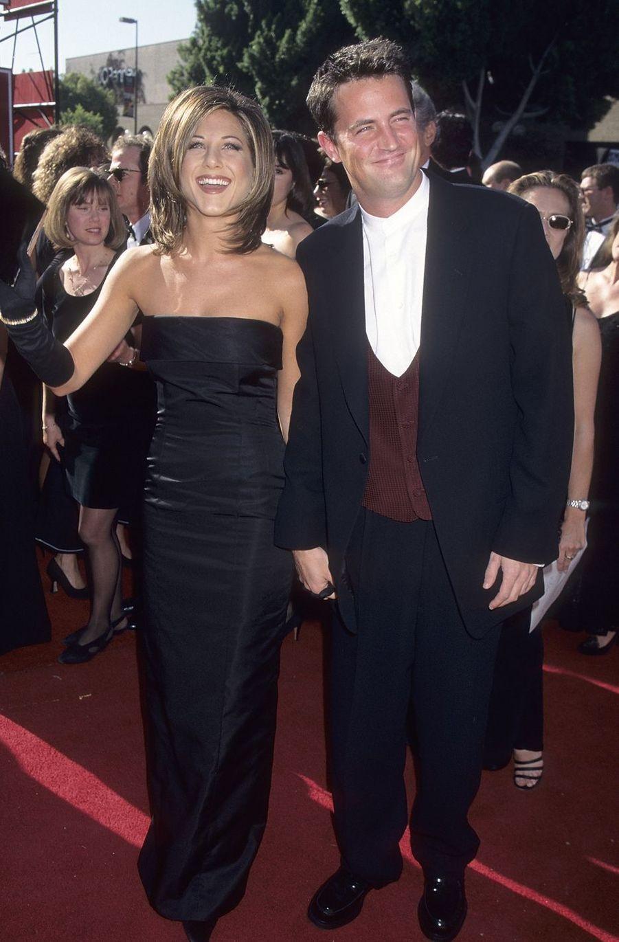 Matthew Perry et Jennifer Aniston en 1995