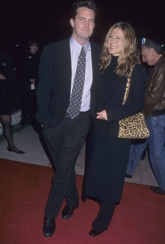 Matthew Perry et Jennifer Aniston en 1998