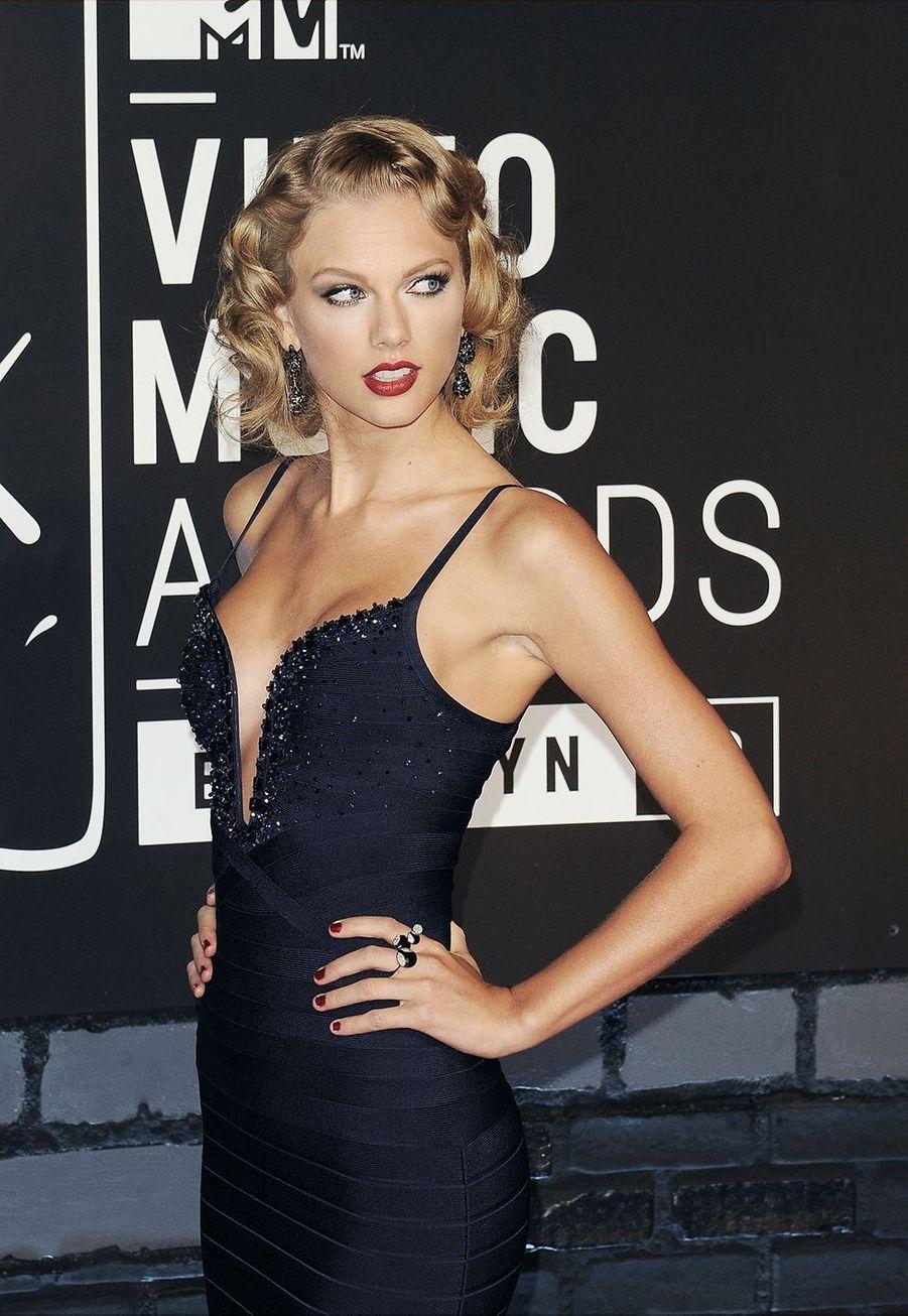 Taylor Swift lors des MTV Video Music Awards à New York le 25 août 2013