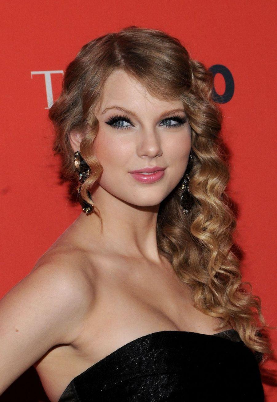 Taylor Swift lors de la soirée de gala TIME 100 à New York le 4 mai 2010